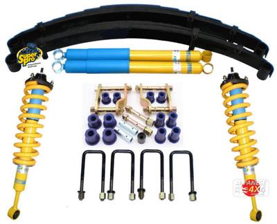 Super Pro Full Suspension Enhancement Lift Kit (Bilstein Version) For Toyota HiLux 2.4 TDi 2016-On