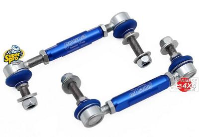 Super Pro HD Adustable Front Anti-Roll Bar Links For For Toyota Landcruiser J12 2002-2010
