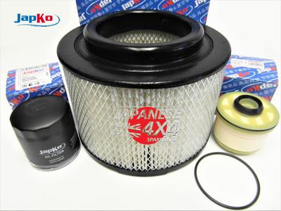 Engine Filter Kit for Toyota Hi Lux Pick Up KUN25 2.5TD & KUN26 3.0TD 2005-2017