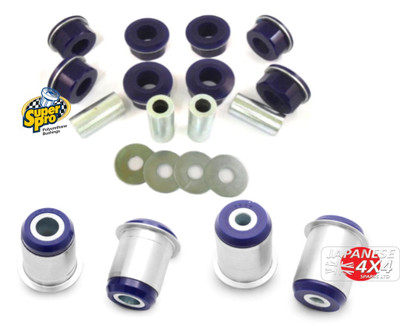 Super Pro Front Control Arm Bush Kit For Toyota Landcruiser 200 Series 2007-