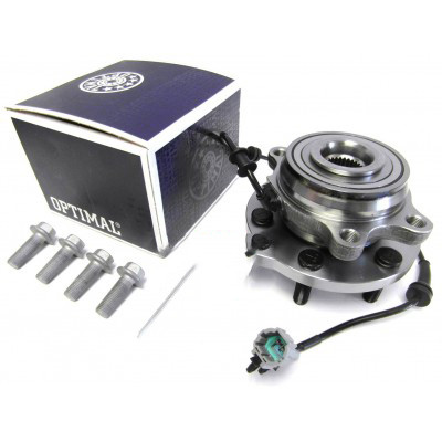 Optimal Front Wheel Bearing Hub Assembly With ABS Cable For Nissan Navara '05-'16 (D40)