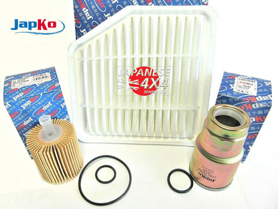 Engine Filter Kit for Toyota Rav 4 2.2D4D ALA30 2005-2012