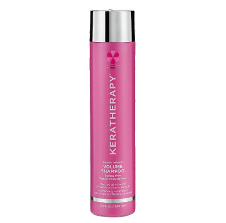 KERATHERAPY keratin infused VOLUME SHAMPOO 10.1oz