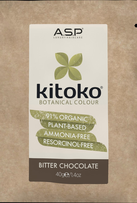 KITOKO Botanical Color BITTER CHOCOLATE 40g/1.4oz