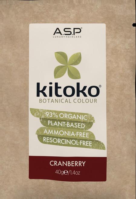 KITOKO Botanical Color CRANBERRY 40g.1.4oz