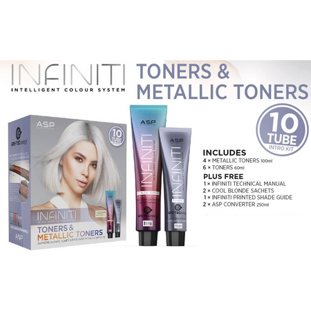 TONERS & METALLIC TONERS INTRO-10 TUBE (Boxed)ASP