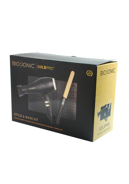 BIO IONIC GoldPro Styler & Wave KIT
