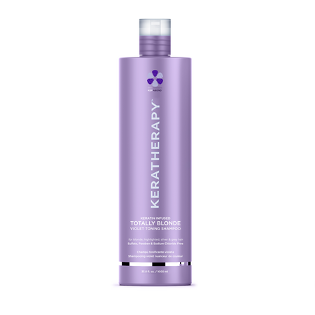 KERATHERAPY TOTALLY BLONDE SHAMPOO 1 LITRE