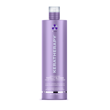 KERATHERAPY TOTALLY BLONDE CONDITIONER  1 LITRE