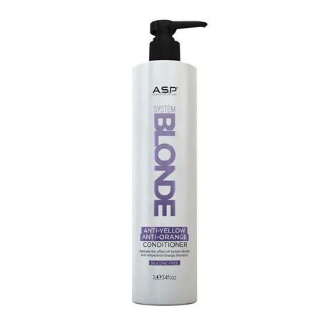 SYSTEM BLONDE ANTI YELLOW ANTI ORANGE CONDITIONER LITRE