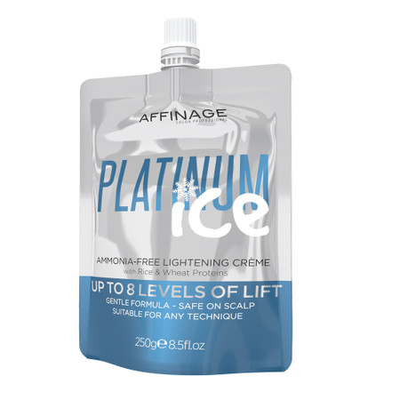 Affinage PLATINUM ICE Ammonia Free Lightening Creme 250ml/8.5 oz.