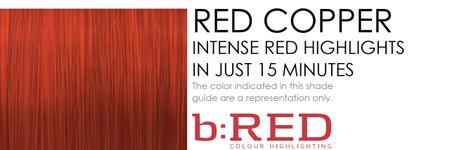 Infiniti B RED-RED COPPER