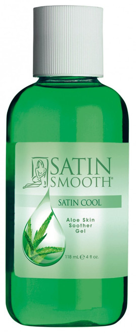 SATIN SMOOTH  ALOE VERA SKIN SOOTHER GEL 4 OZ. SATIN COOLSSWLA4G