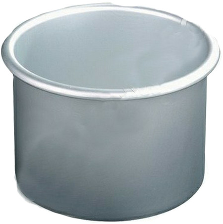 SATIN SMOOTH METAL WAX POT -SINGLE