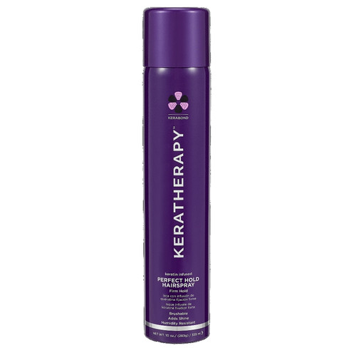 KERATHERAPY keratin infused PERFECT HOLD HAIRSPRAY firm hold