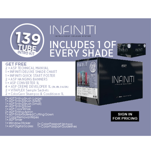 INFINITI 139 TUBE INTRO (ASP)