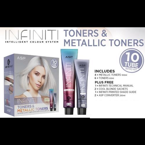 TONERS & METALLIC TONERS INTRO-10 TUBE (Boxed)ASP