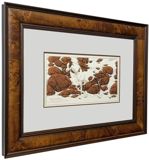 "Bev Doolittle ""Hide and Seek - F"" Pinto Matted & Framed Signed and Numbered L/E"