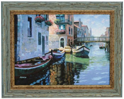 "Howard Behrens ""Morning Light"" Canvas Framed O/E"
