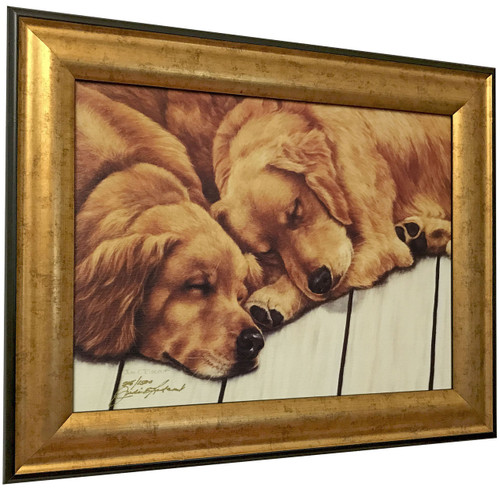 """Judi Rideout """"Best Buddies"""" Canvas Framed L/E Signed & Numbered"""
