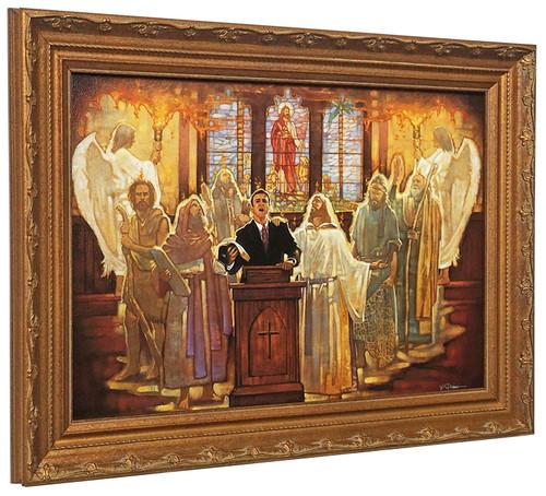 "Ron DiCianni ""The Legacy"" Church Pastor Canvas Framed Art Print"