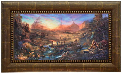 "Tom duBois ""The Commission"" Noah's Ark Canvas Framed L/E Signed & Numbered"
