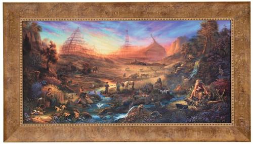 "Tom duBois ""The Commission"" Noah's Ark Canvas Framed Signed & Numbered L/E"