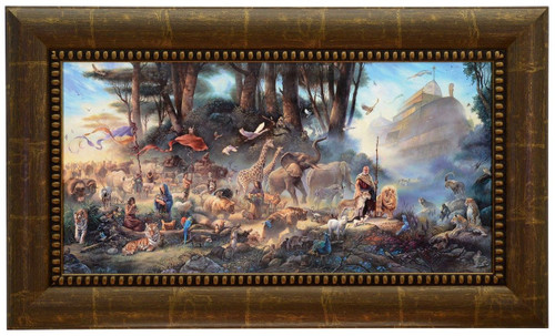 "Tom duBois ""The Invitation"" Noah's Ark Canvas Framed Signed & Numbered L/E"