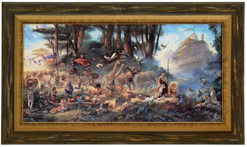 "Tom duBois ""The Invitation"" Noah's Ark Canvas Framed L/E Signed & Numbered"