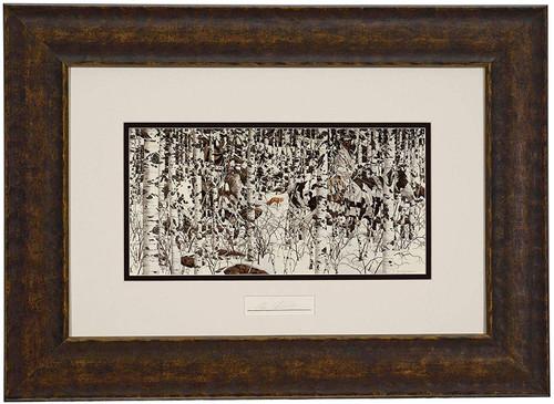 Bev Doolittle 'Woodland Encounter' Matted & Framed Print WSS L/E