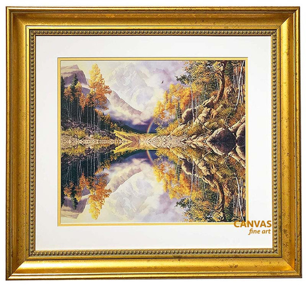 Bev Doolittle 'In The Wilderness' Matted & Framed LE