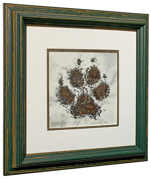 """Bev Doolittle """"Walk Softly"""" Bear Paw - Matted & Framed Signed and Numbered with COA L/E"""