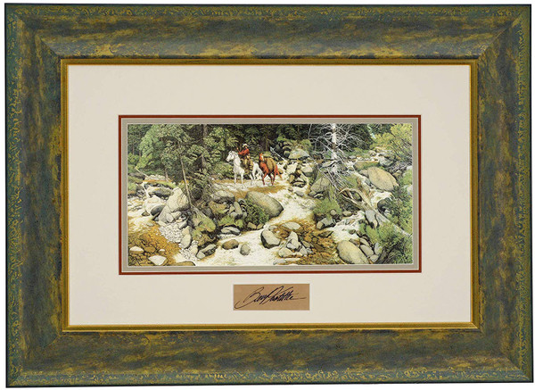 """Bev Doolittle """"The Forest Has Eyes"""" with Artist Signature Matted & Framed Print WSS L/E"""