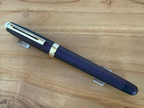 Prelude 9121 Chameleon Partially Purple Painted GT USA (Sheaffer) Fountain Pen - Medium Nib