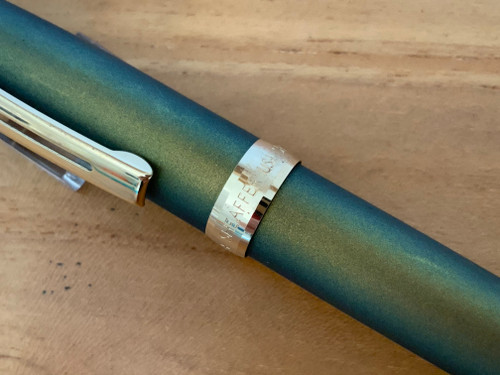 Prelude 9123 Chameleon Lightning Green Painted GT USA (Sheaffer) Fountain Pen - Medium Nib