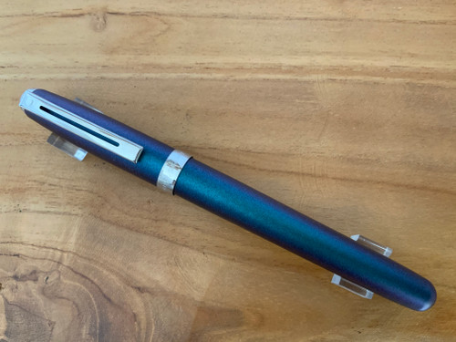 Prelude 9138 Electric Blue Painted  NT Fountain Pen - Medium Nib