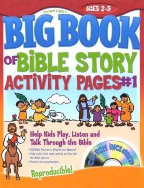 Big Book of Bible Story Activity Pages V1