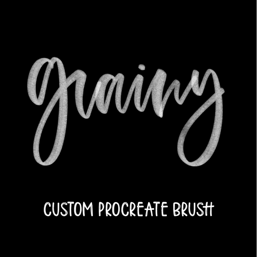 Grainy brush