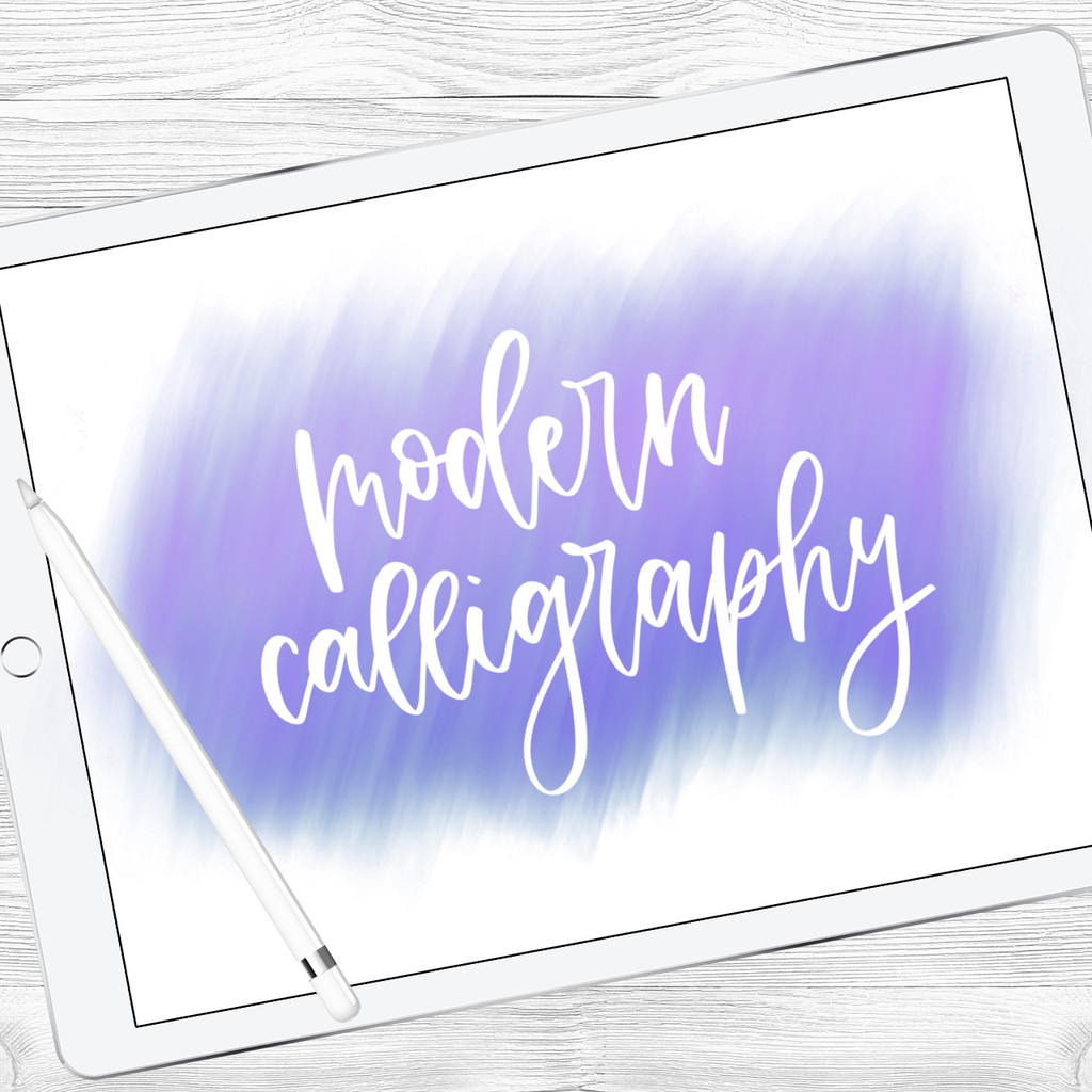 Modern Calligraphy Brush