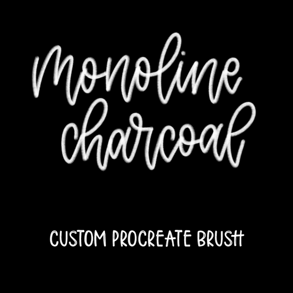 Monoline Charcoal Brush
