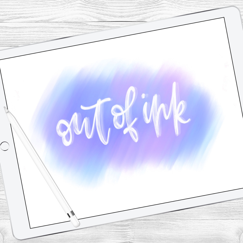 Out Of Ink Brush