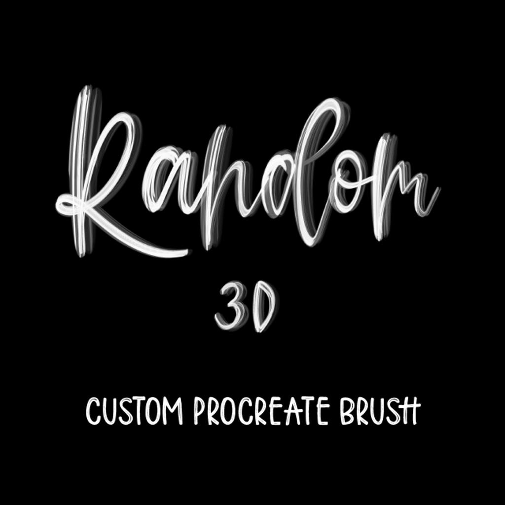 Random 3D Brush