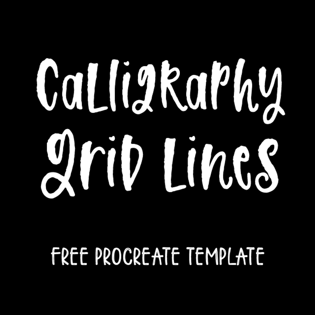 Calligraphy Grid