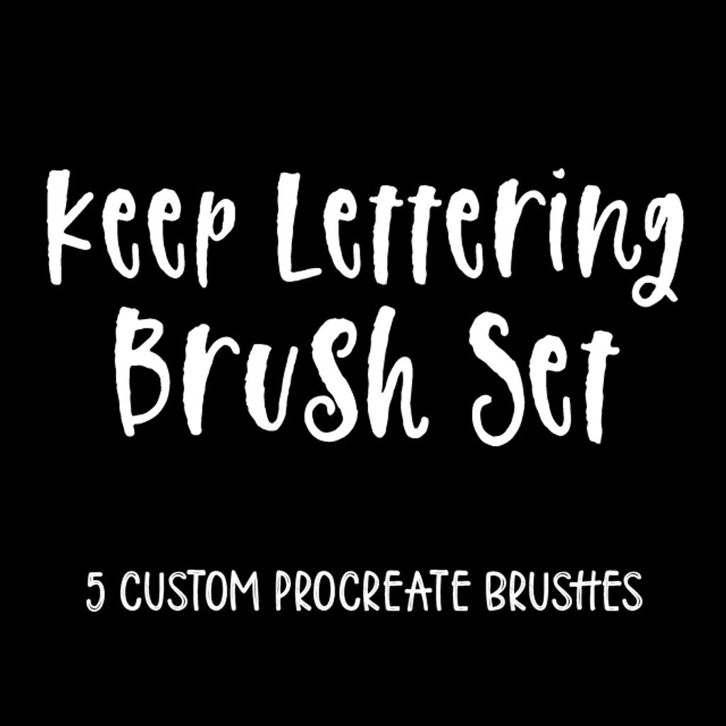 Keep Lettering