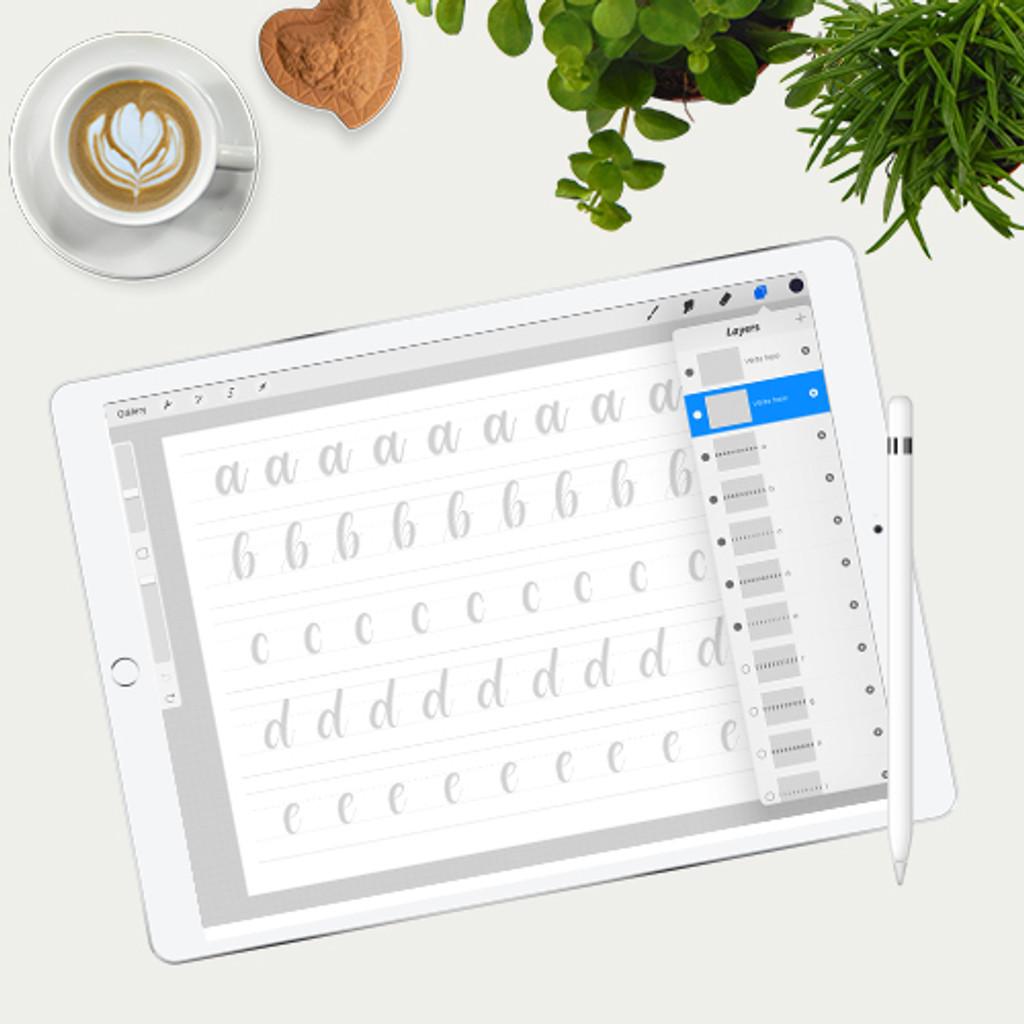Practice Sheets (non iPad Pro)