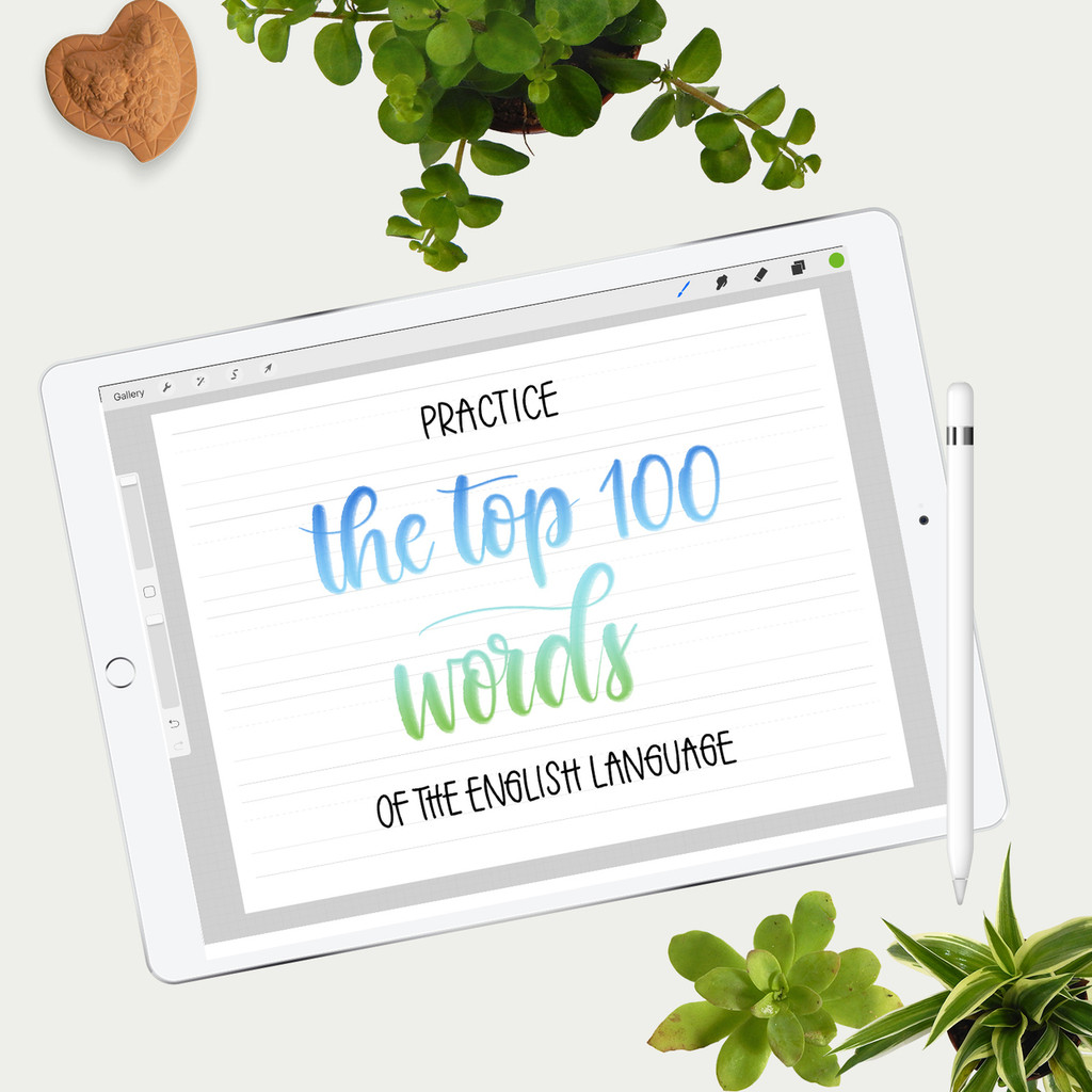 Practice Sheets Top 100 words