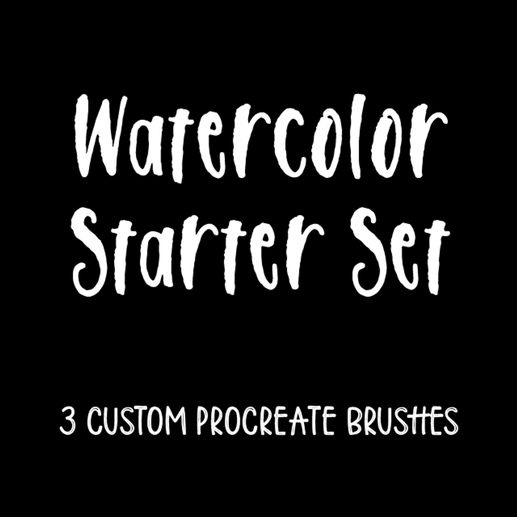 Watercolor Starter Set