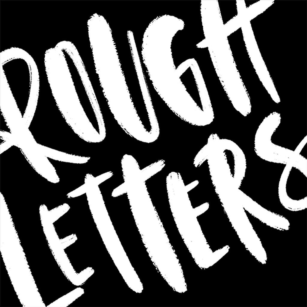 Rough Letters Brush