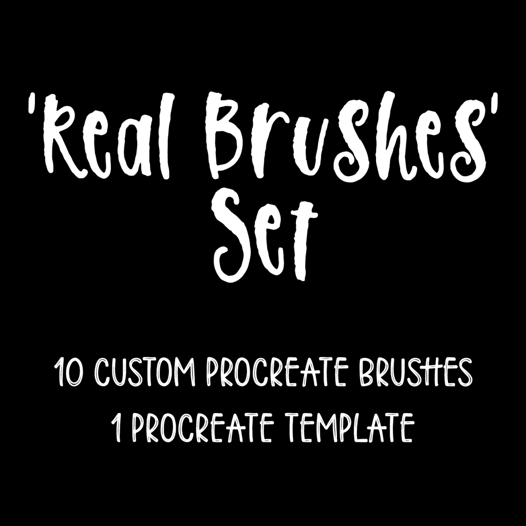 'Real Brushes' Set