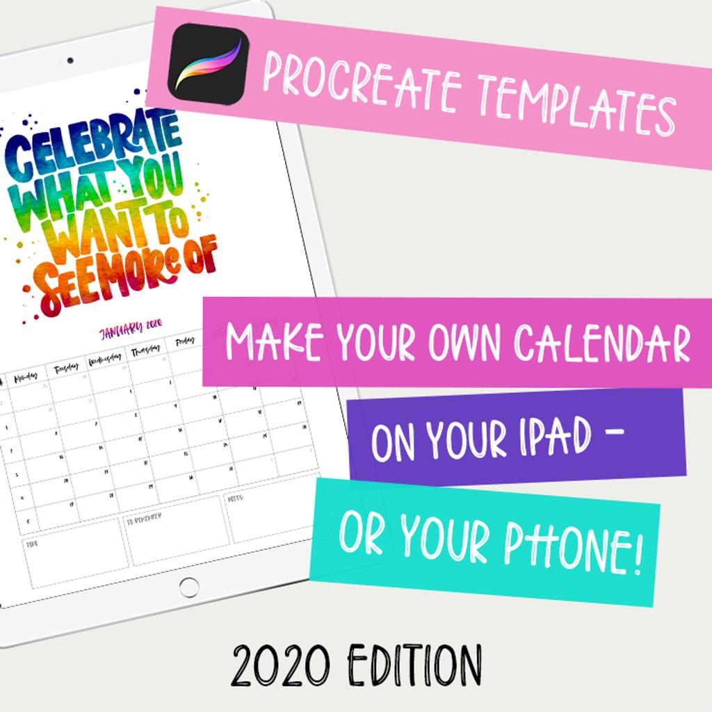 Calendar Maker 2020
